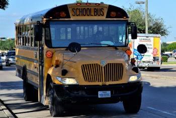 Texas Public School Bus