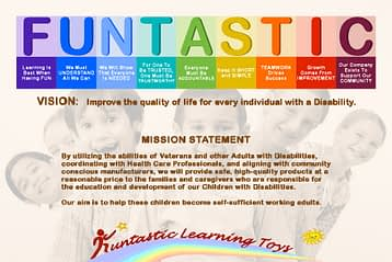 Funtastic Learning Toys Vision, Mission, and Values