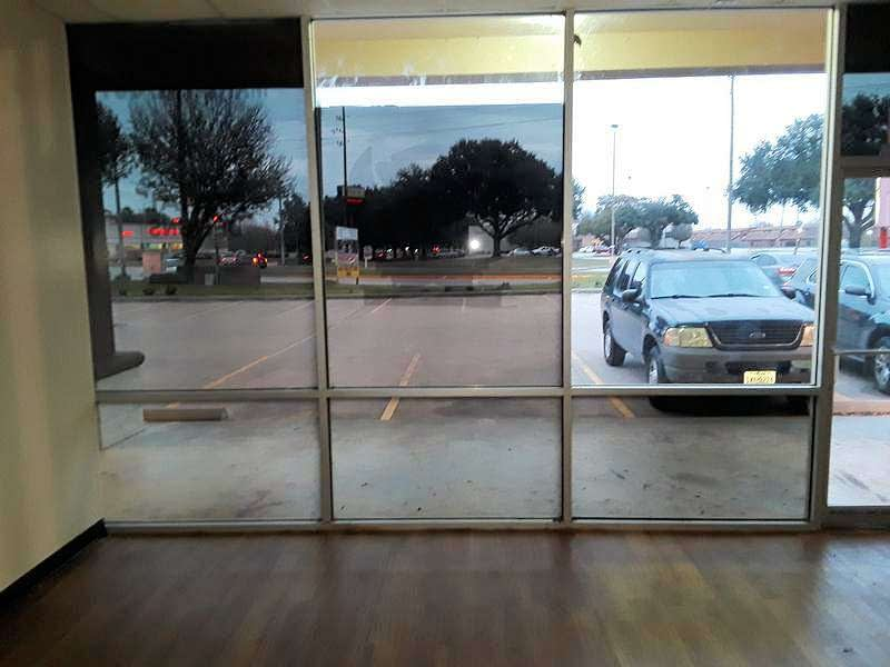 View from Inside New Store